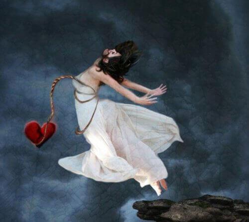 Skok z sercem