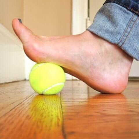 Ćwiczenia na bóle stóp