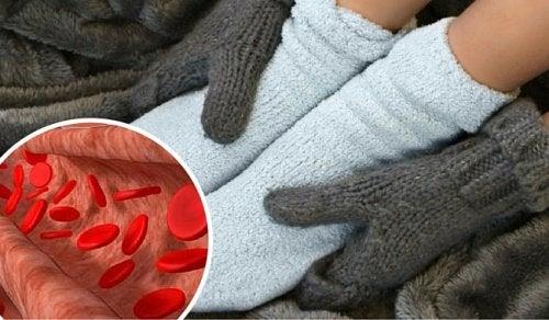 Zimne ręce i stopy