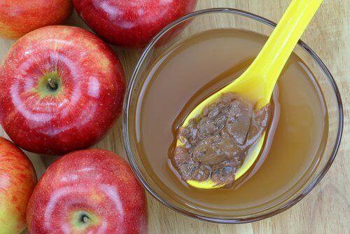 Jabłka, ocet