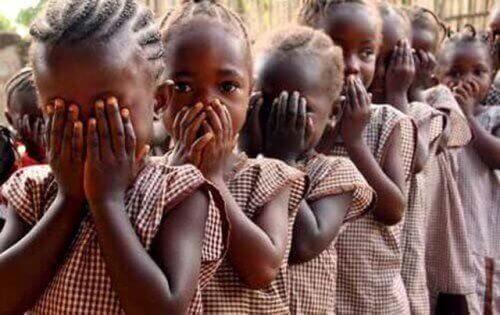 Afrykańskie dziewczynki