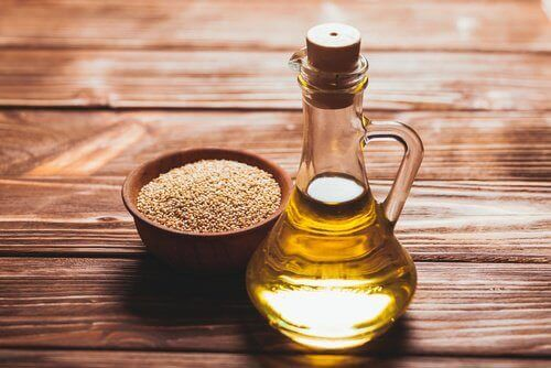 olej sezamowy na dzwonienie w uszach