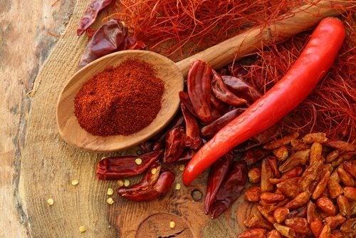 Chili sproszkowane i papryczka