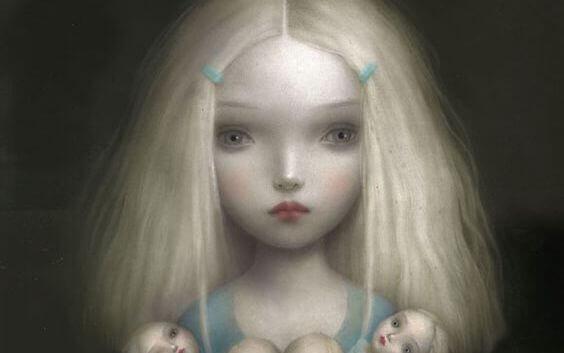 Dziewczynka z lalkami