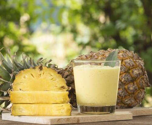 Koktajl z ananasa