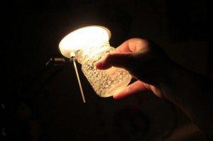 Lampion - słoik