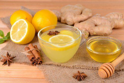 Napar z cytryny