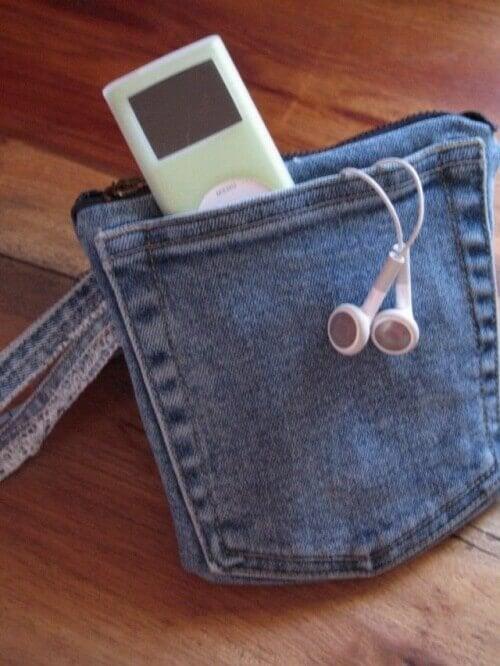 Mała torebka dżinsowa