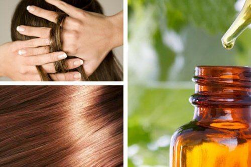 Naturalne serum do pielęgnacji włosów