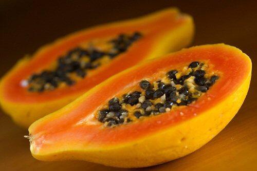 Świeża papaja