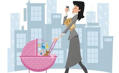 Pracująca matka