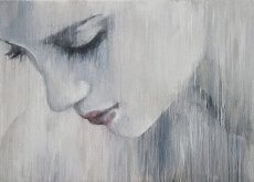 Smutna kobieta