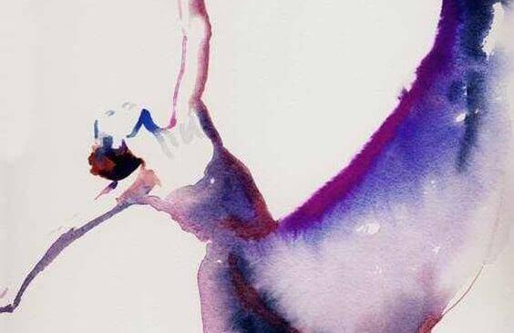 tancerka spełniająca własne oczekiwania