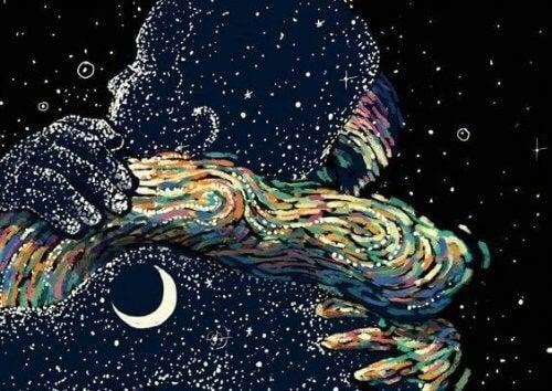 kosmiczny uścisk