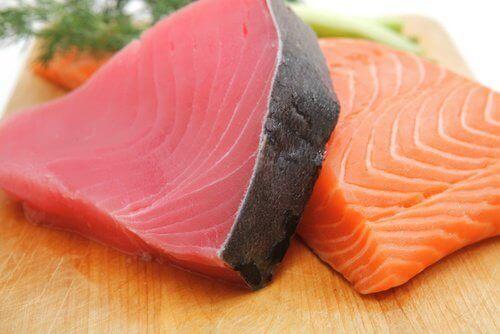 Kawałki ryby