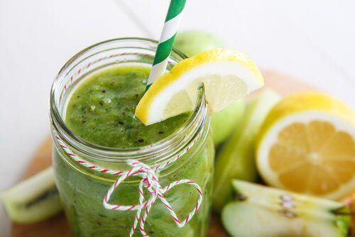 Zielone smoothie oczyszczające