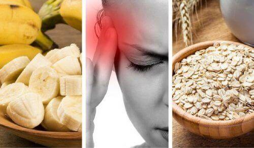 Jedzenie na ból głowy
