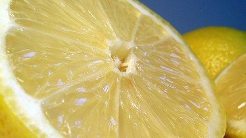 Połówka cytryny
