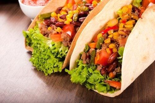 Pikantne jedzenie na metabolizm