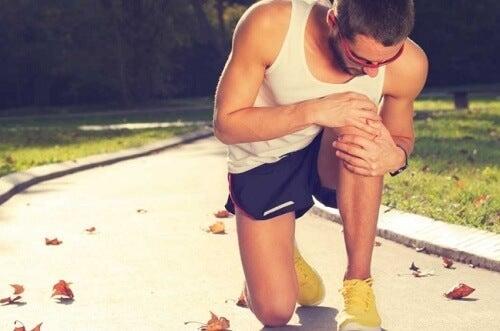 Ból kolana u biegacza
