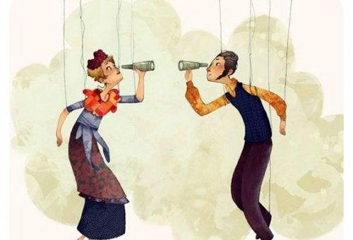 Marionetki rysunek