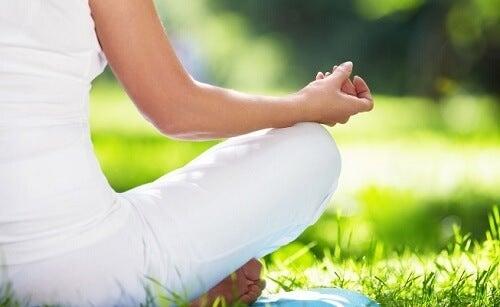 medytacja na łące a niepewność