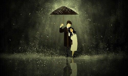 para z parasolem