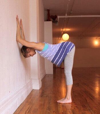 Plank przy ścianie