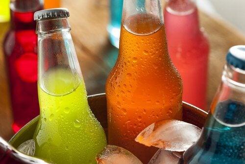 Dobrze schłodzone słodkie napoje