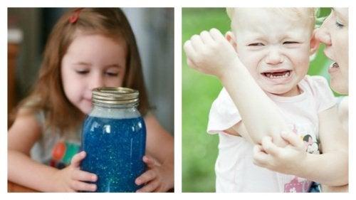 spokojne i niespokojne dziecko