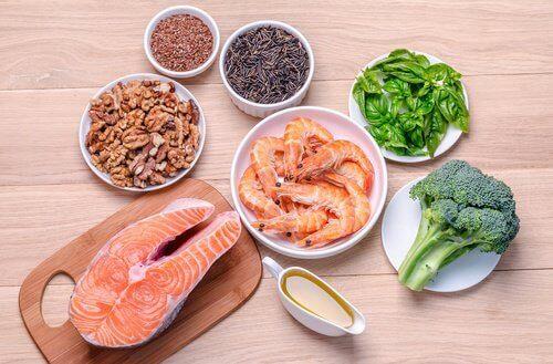 Produkty zawierające zdrowe tłuszcze