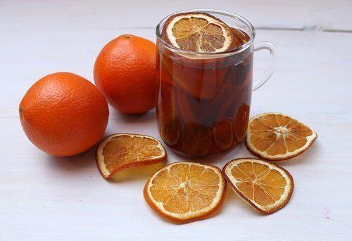 Napar z pomarańczy na lepszy sen