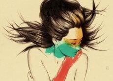 kobieta-rysunek
