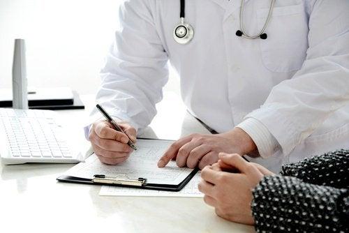 Specjalista z pacjentką