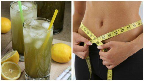 Lemoniada z zieloną herbatą na utratę wagi