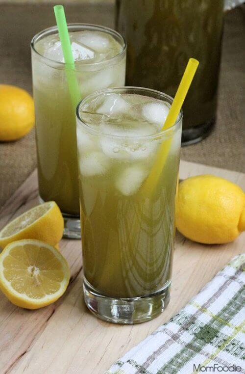 Lemoniada z lodem