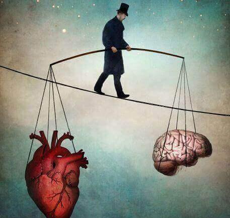 Serce i mózg.
