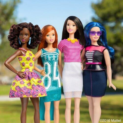 Kolekcja nowych lalek Barbie