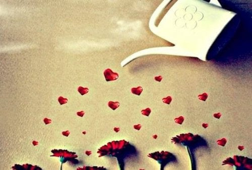 Podleawnie kwiatów przynosi miłość