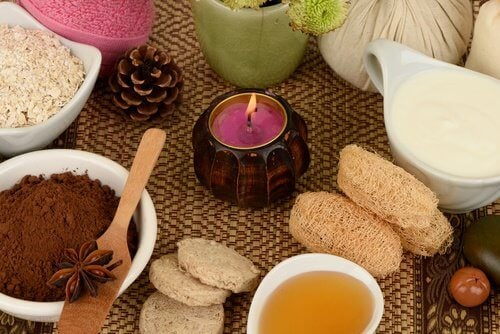 Domowe spa - świeczki i naturalne składniki