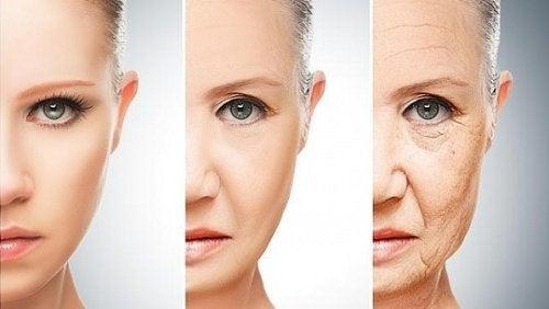 starzenie twarzy
