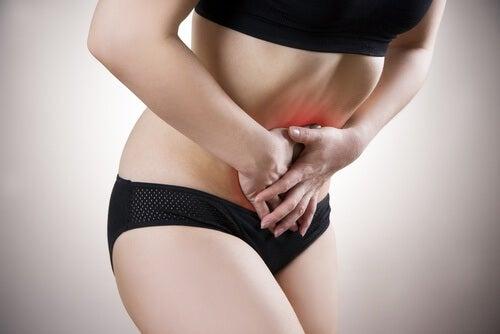 silny ból menstruacyjny