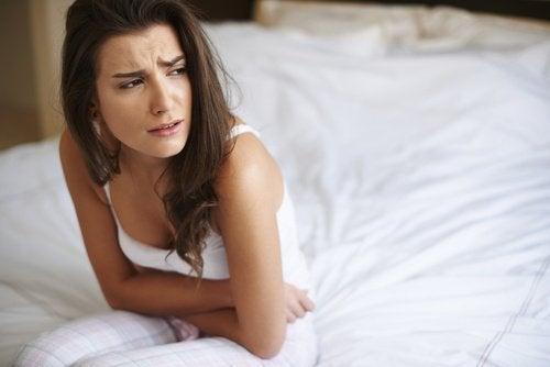 Zaparcia i ból brzucha