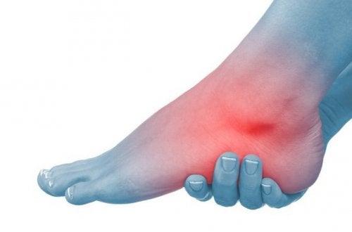 ból w stopach