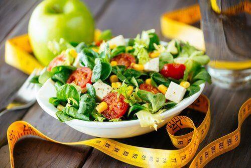 dieta zdrowa sałatka