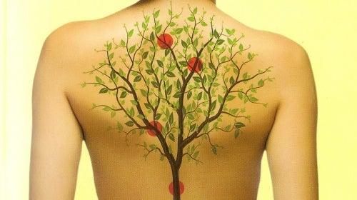 Drzewo na plecach
