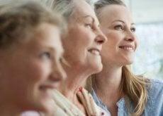 Kobiety w różnym wieku - trzy pokolenia