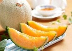 Świeży melon