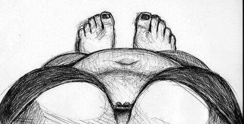 Niedoskonałe ciało kobiety