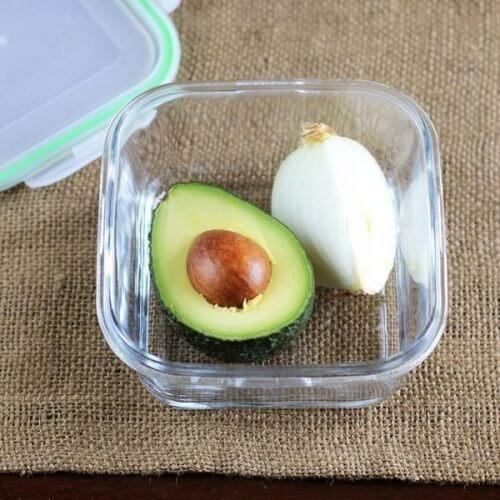Przechowywanie awokado i cebuli - świeża żywność